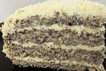 Это просто обязана приготовить хоть раз в жизни каждая хозяйка: вкусный торт «Царица эстер».
