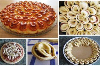 Моя свекровь — еврейка. Она готовит такой вкусный мясной пирог «Хризантема» по своему рецепту, что часто в гости забегаю только ради него!