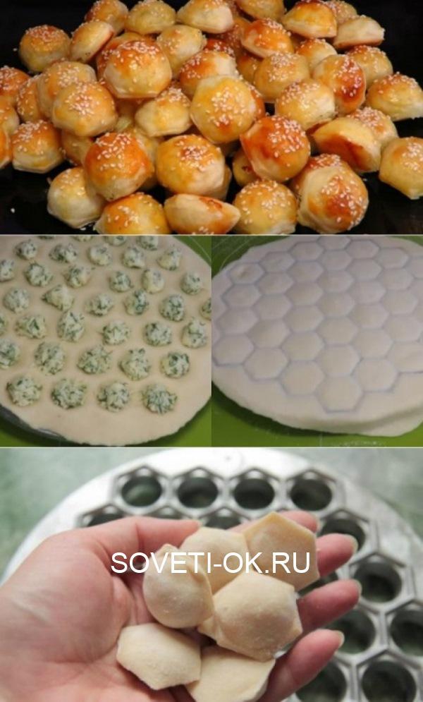 Пирожки «малютки» без лепки: ЕМ И ПЕКУ, ПЕКУ И ЕМ