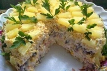 Торт-салат «Чудо-слойка» — салат года
