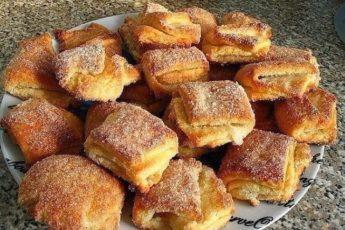 Это домашнее печенье выручет всегда. Дети берут в школе с удовольствием.