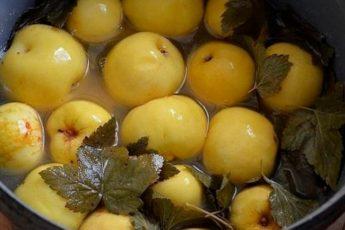 Моченые яблоки — СУПЕРЗАКУСКА !