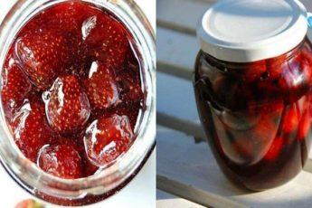 Как сварить густое клубничное варенье на зиму с целыми ягодами. 5 подробных рецептов