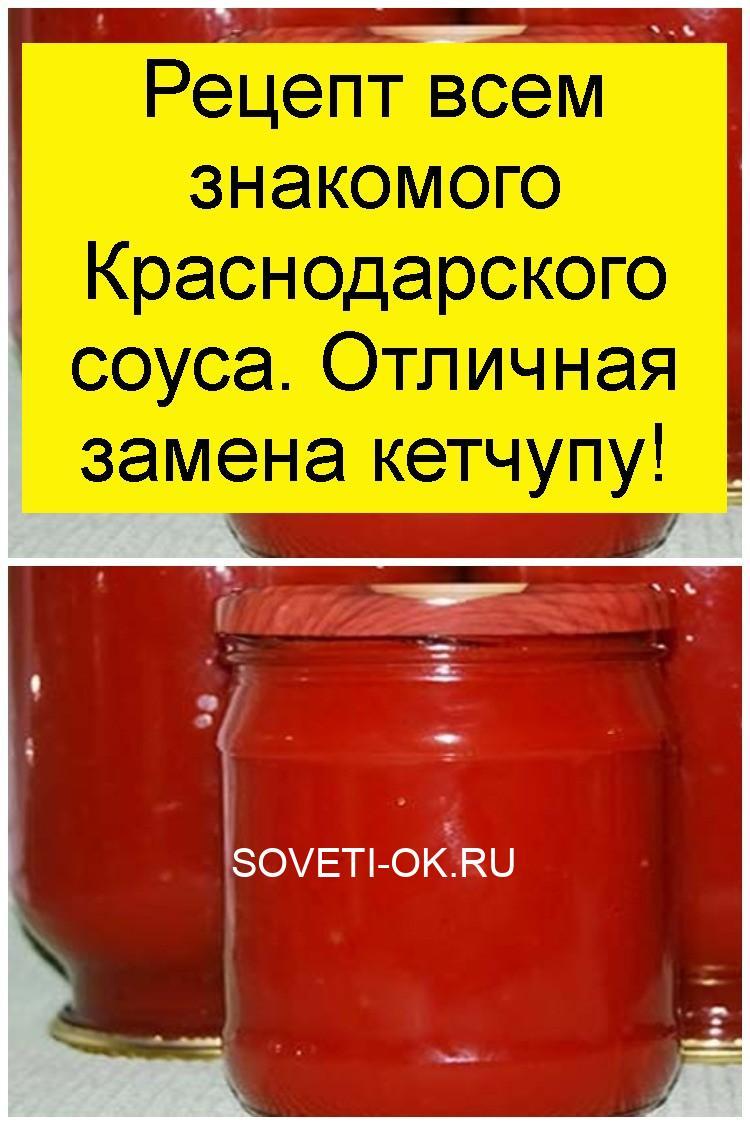 Рецепт всем знакомого Краснодарского соуса. Отличная замена кетчупу 4
